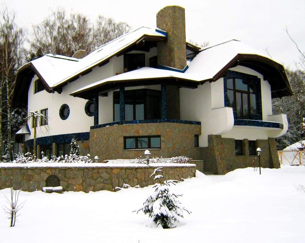 Дом_Синий