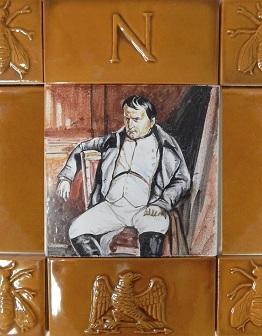 Керамическое панно Наполеон