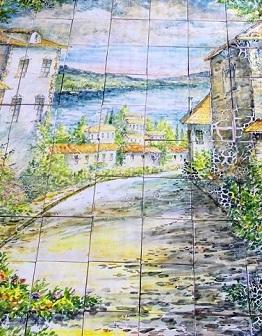Панно Итальянский пейзаж