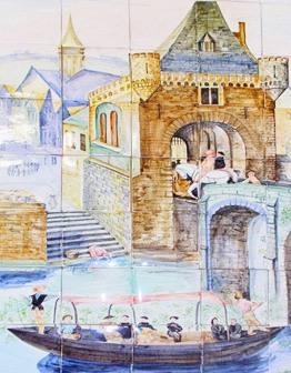 Панно Замок