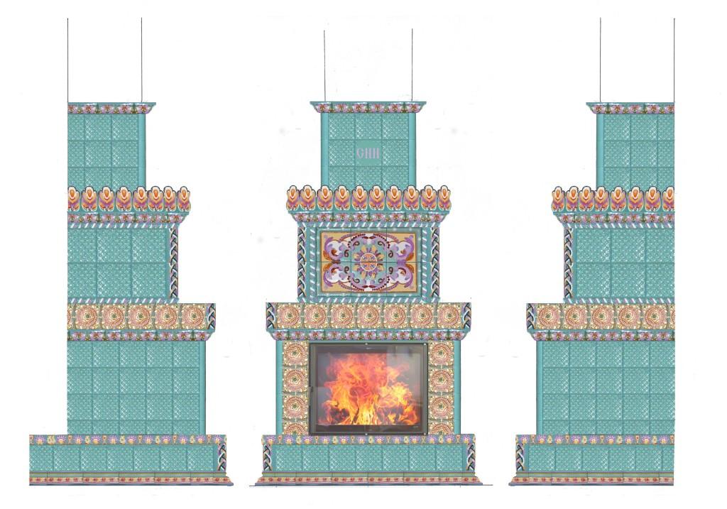 Projekt kamina