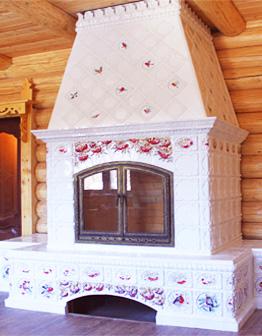 Камин Рябина красная