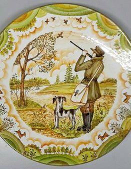 Интерьерные тарелки с живописью