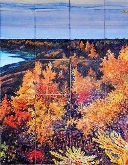 Панно Осень на Таймыре