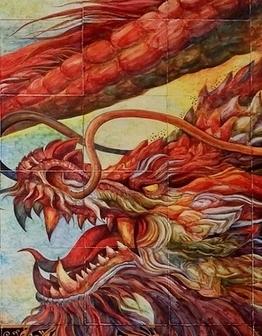Панно Небесный дракон