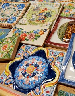 Распродажа изразцов и декора из разных коллекций