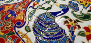 Panno v vostochnom stile keramika