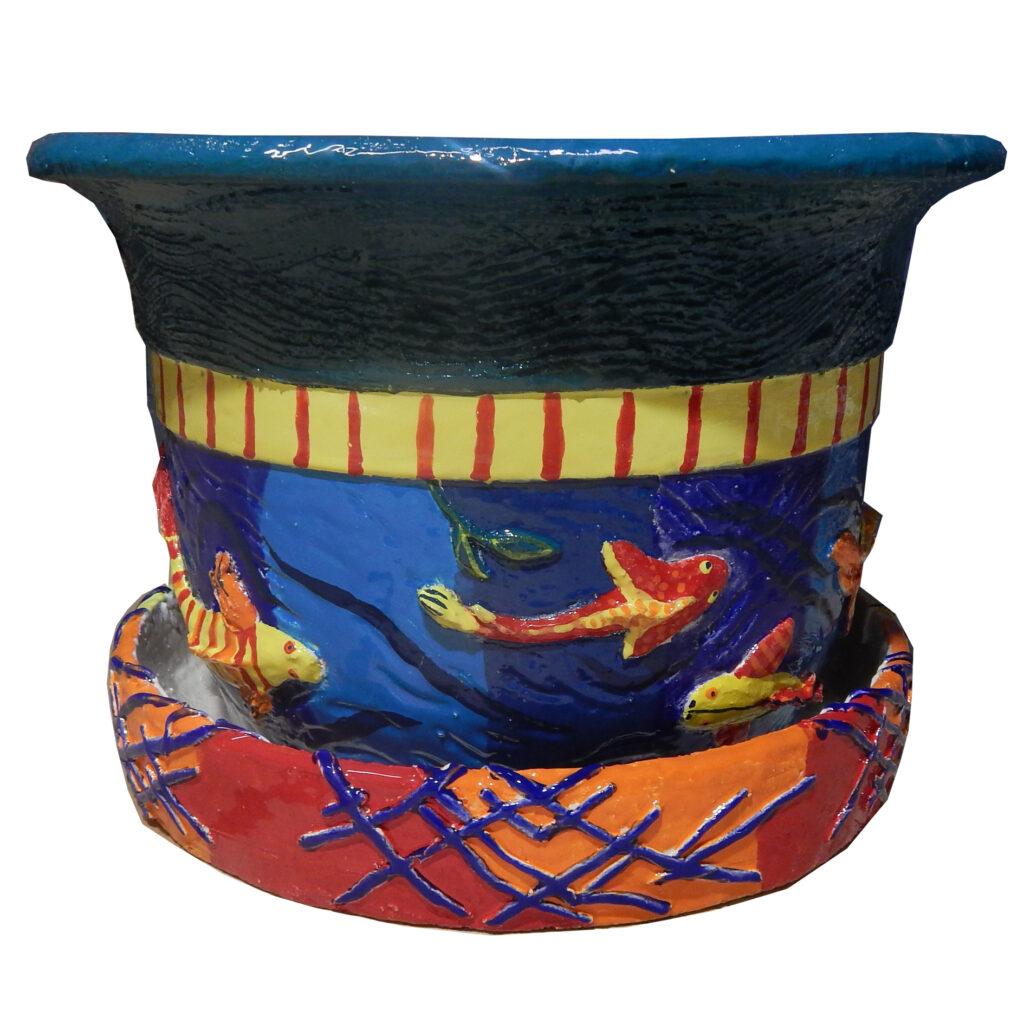 Gorshok iz keramiki