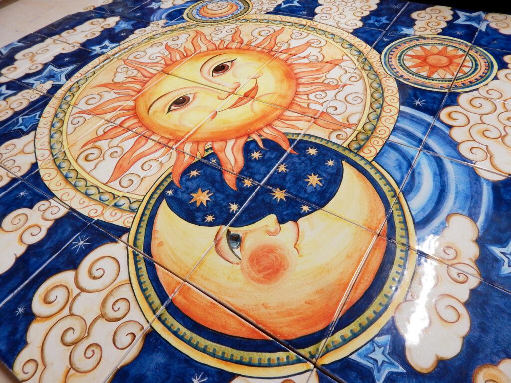 Ceramica panno ruchnoj raboty