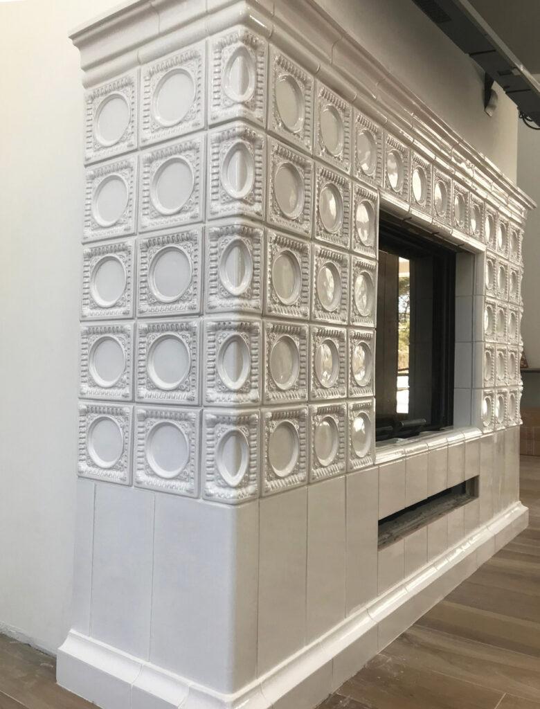 Изразцовый камин для дома