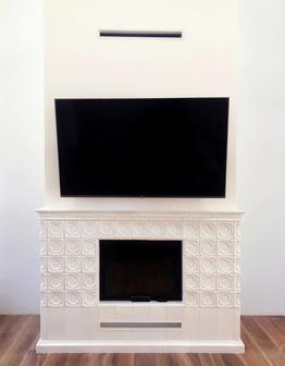 Львовский камин с телевизором