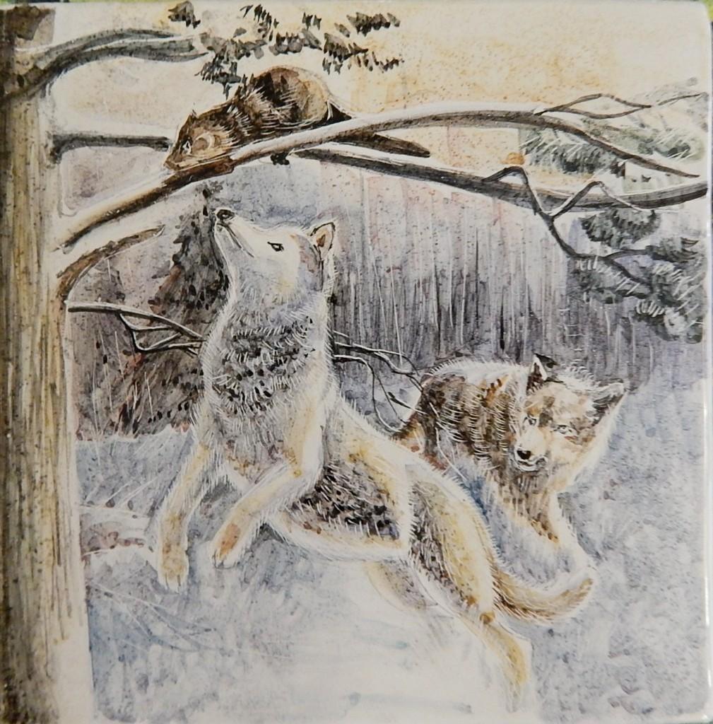 Волки -