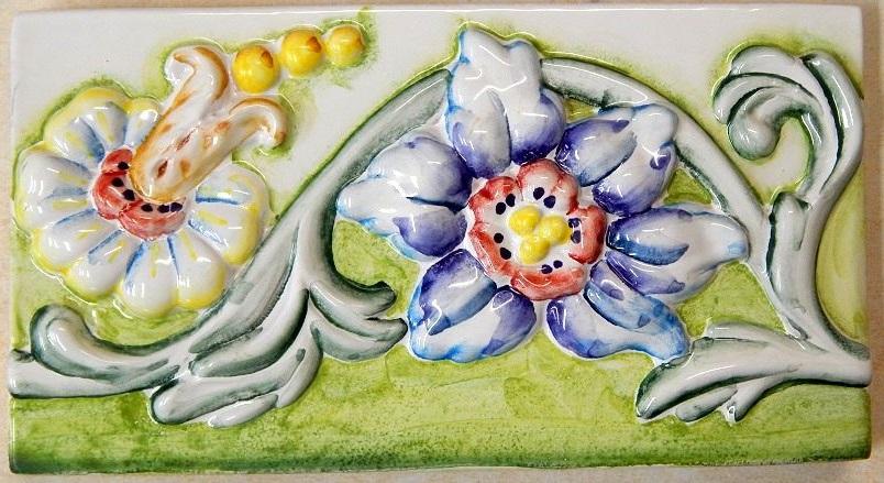бордюр цветочный