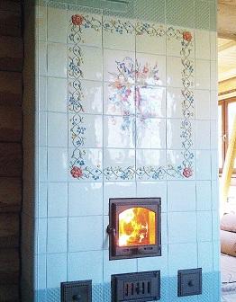 Печь и камин в стиле Прованс