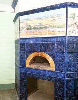 Печка Пицца в Zю Кафе