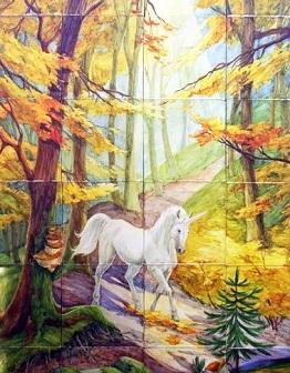 Панно «Единорог»