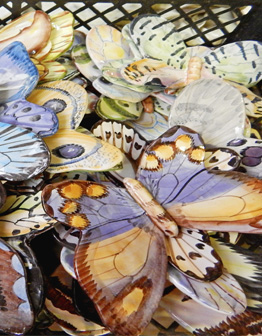 Керамический декор Бабочки