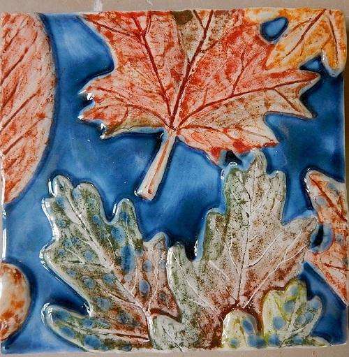 Изразцы Осень
