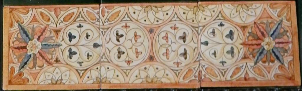 Панно с орнаментами
