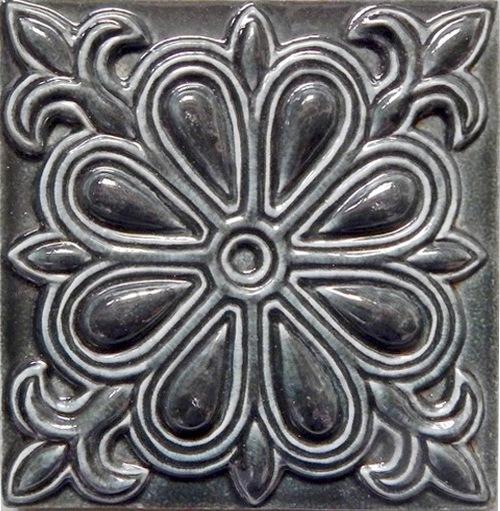 Изразцовые плитки «Мокрый асфальт»