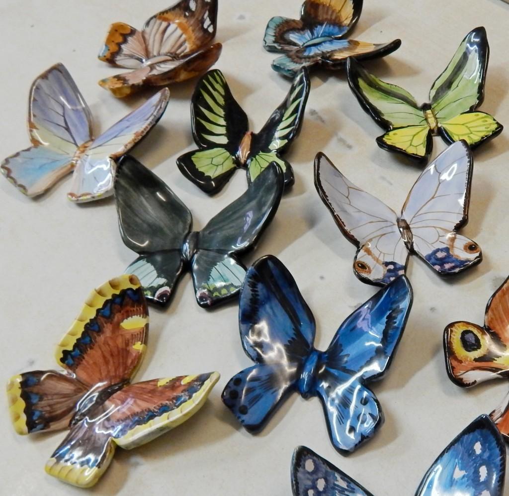 Бабочки куча