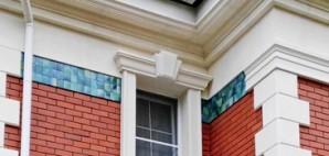 fasad s malahitom