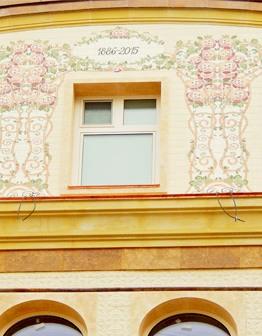 Фасад Модерн с росписью