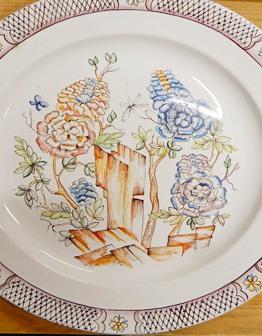 Тарелки с живописью Прелесть Востока