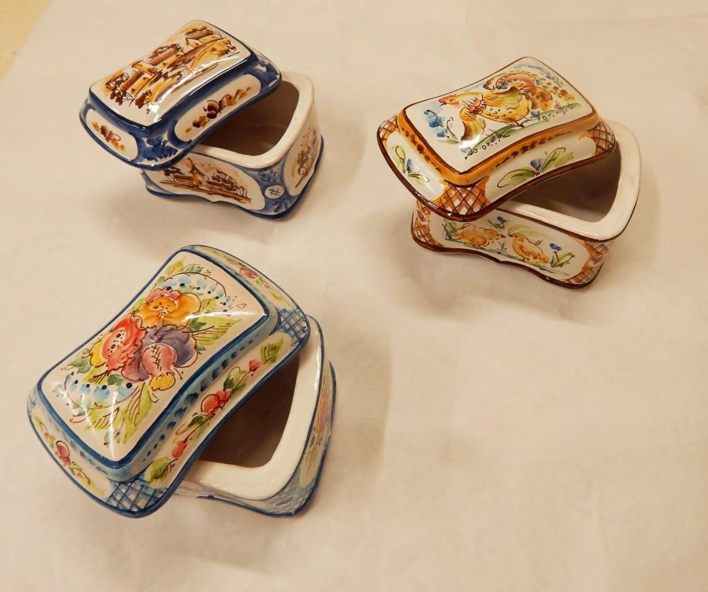 Ceramica shkatulka