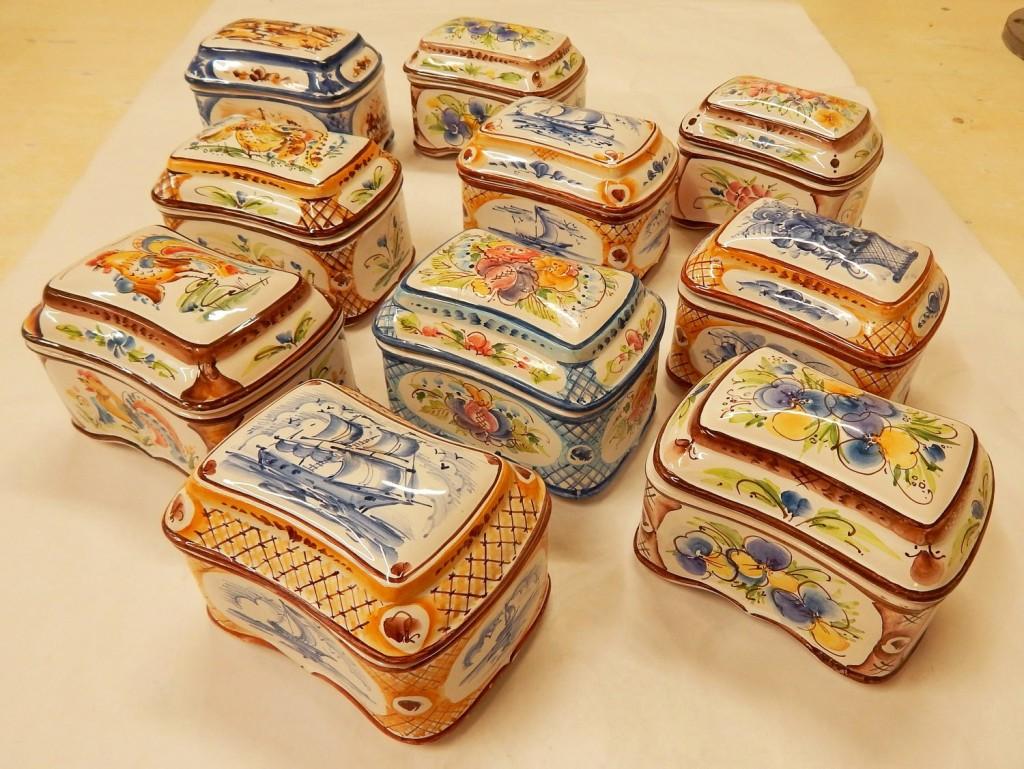 Shkatulka ceramica