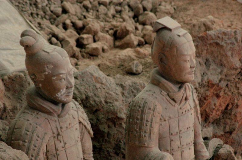 Глиняные истуканы Китая
