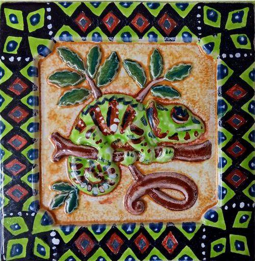 Ацтекские изразцы
