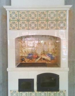 Изразцовая печь Тоскана