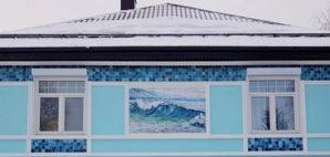 Keramicheskij morskoj fasad